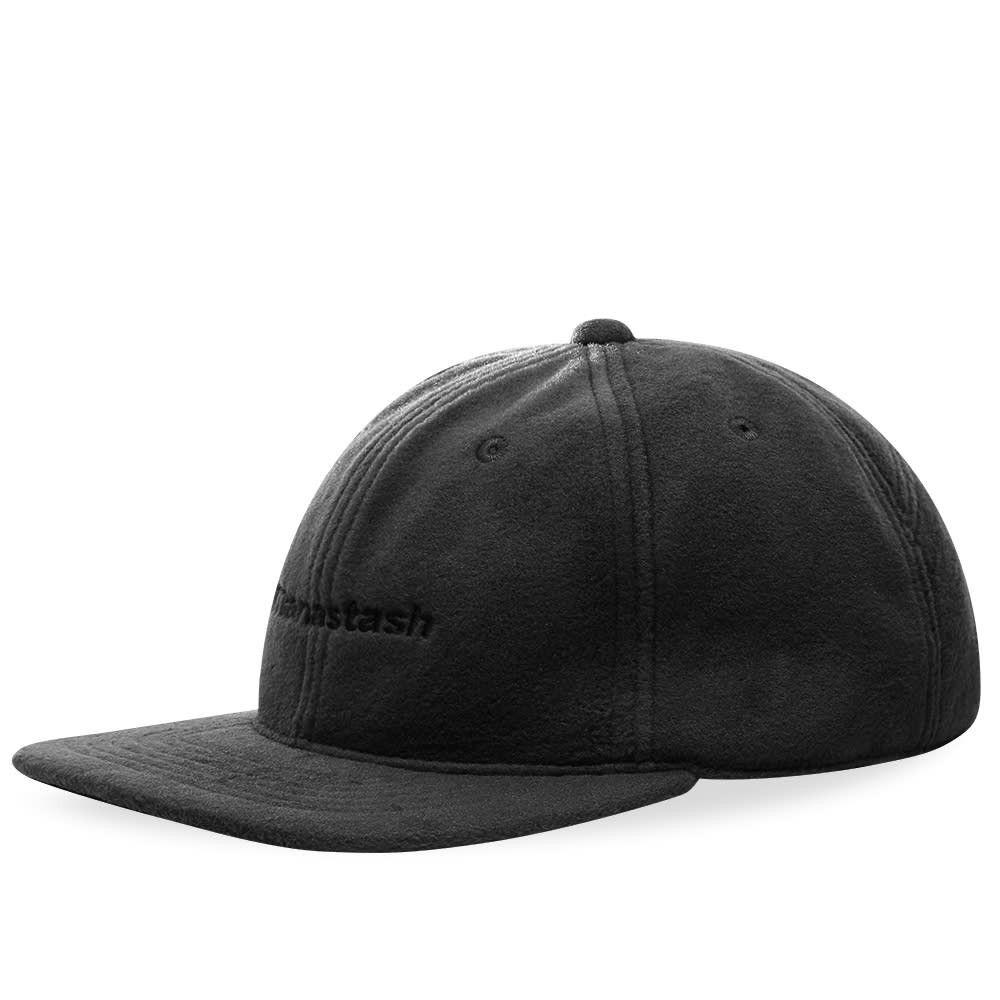 マナスタッシュ メンズ 帽子 キャップ Black 【サイズ交換無料】 マナスタッシュ Manastash メンズ キャップ 帽子【Polartec Cap】Black