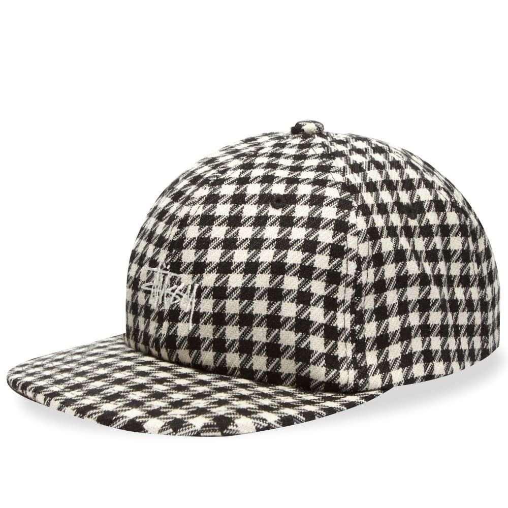 ステューシー Stussy メンズ キャップ スナップバック 帽子【Mixed Pattern Snapback Cap】Black
