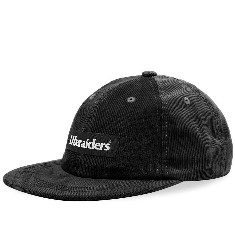 リベレイダース Liberaiders メンズ キャップ 帽子【Corduroy Cap】Black