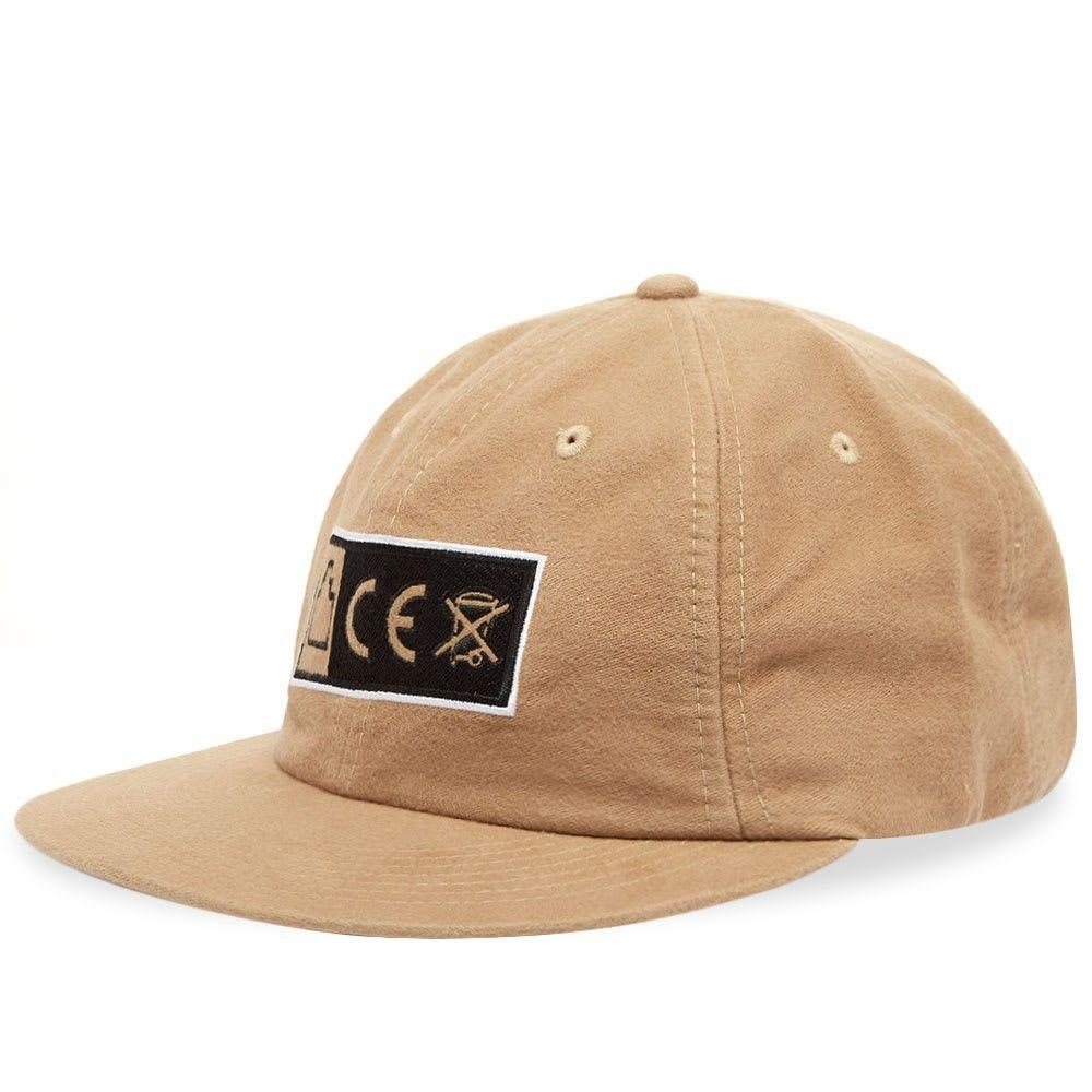 シーイー メンズ 帽子 キャップ Beige 【サイズ交換無料】 シーイー Cav Empt メンズ キャップ 帽子【CE X Low Cap】Beige