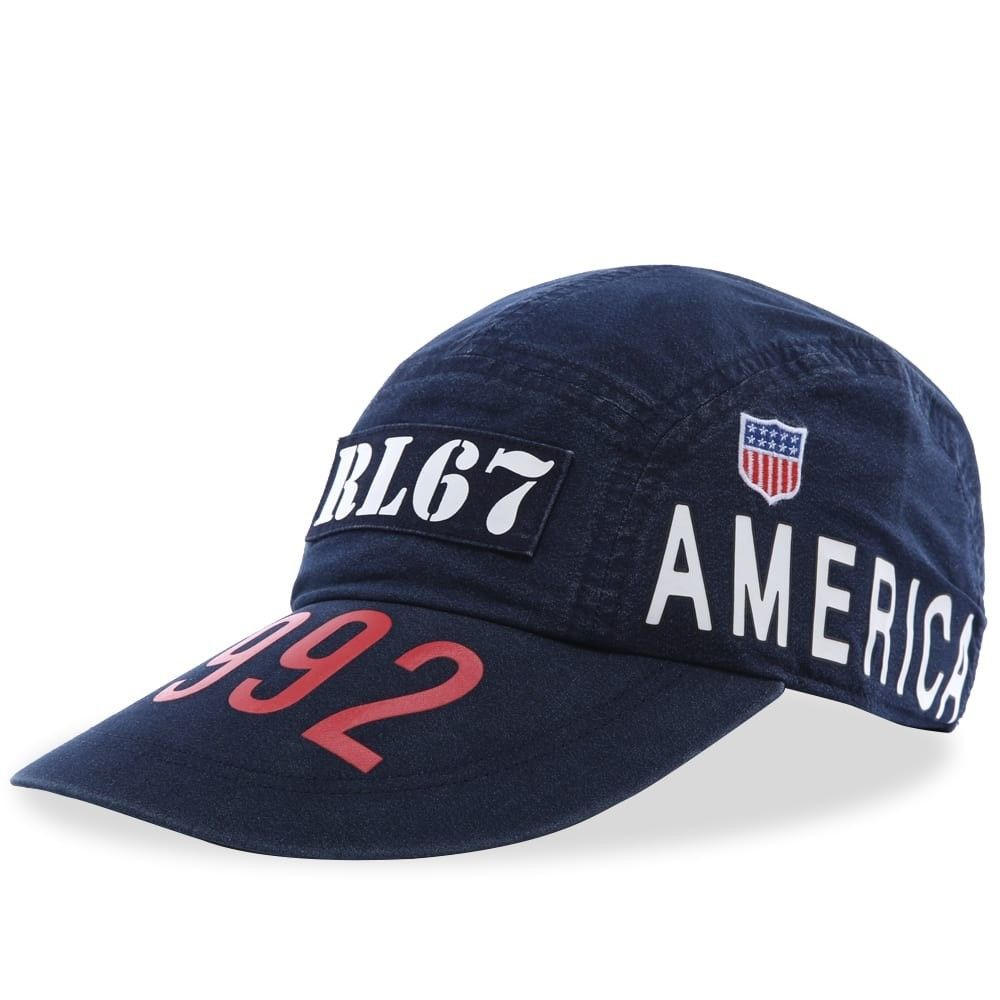 ラルフ ローレン メンズ 帽子 キャップ Ridge Wash 【サイズ交換無料】 ラルフ ローレン Polo Ralph Lauren メンズ キャップ 5パネルキャップ 帽子【Indigo Stadium 5 Panel Hat】Ridge Wash
