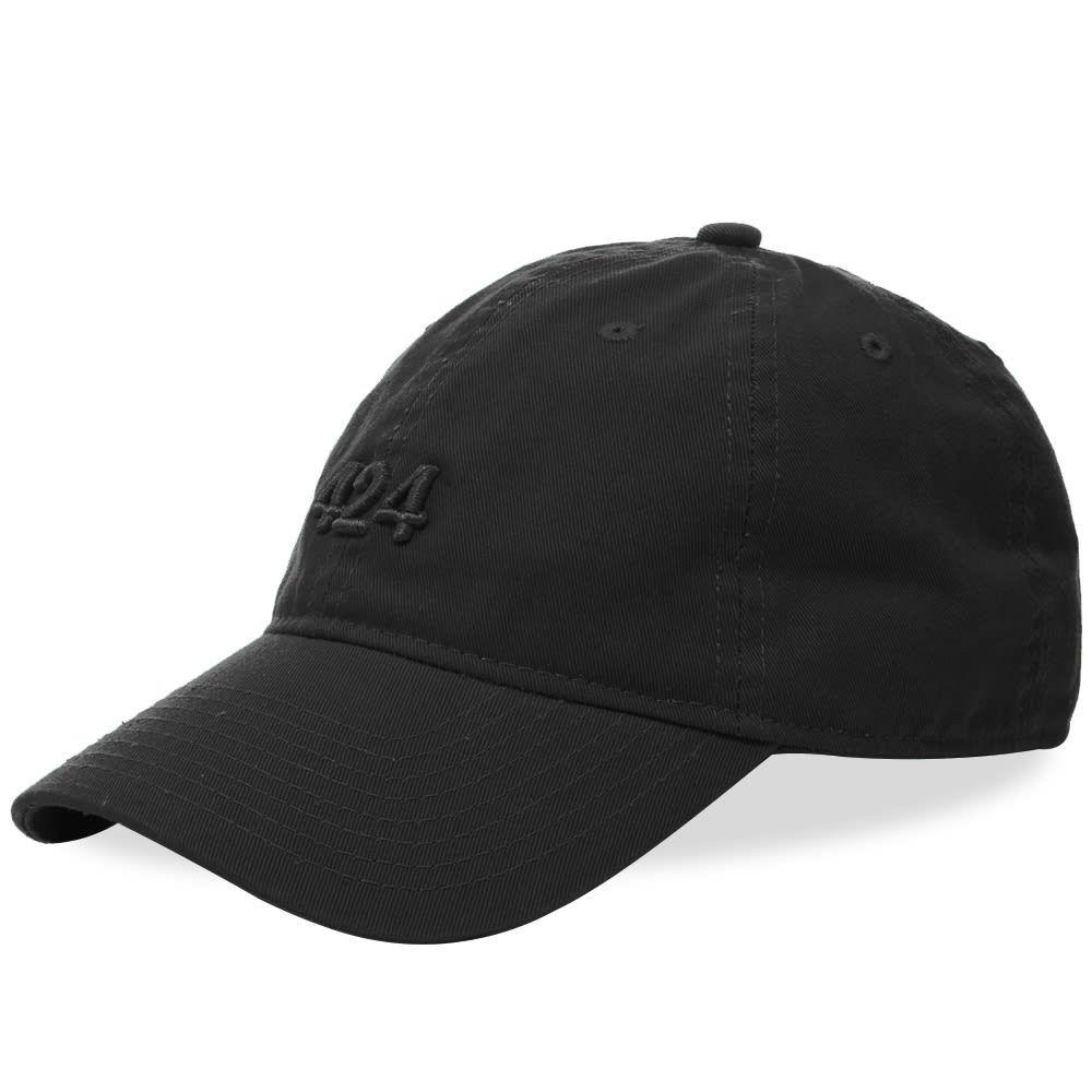 フォートゥーフォー メンズ 帽子 キャップ Black 【サイズ交換無料】 フォートゥーフォー 424 メンズ キャップ 帽子【Logo Cap】Black