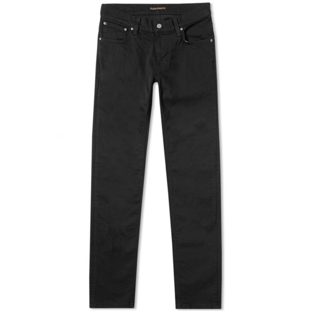 ヌーディージーンズ Nudie Jeans Co メンズ ジーンズ・デニム ボトムス・パンツ【Nudie Tight Terry Jean】Ever Black