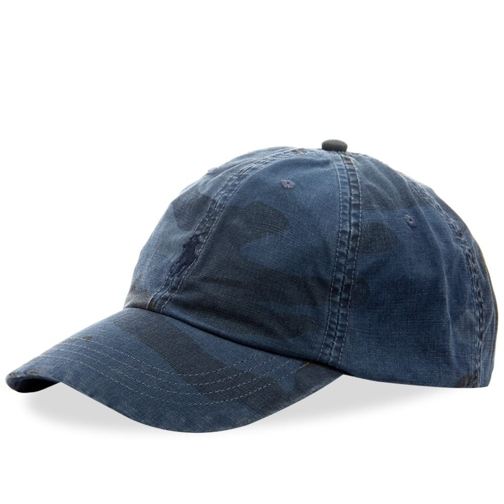 ラルフ ローレン メンズ 帽子 キャップ Blue Camo 【サイズ交換無料】 ラルフ ローレン Polo Ralph Lauren メンズ キャップ 帽子【Surplus Cap】Blue Camo