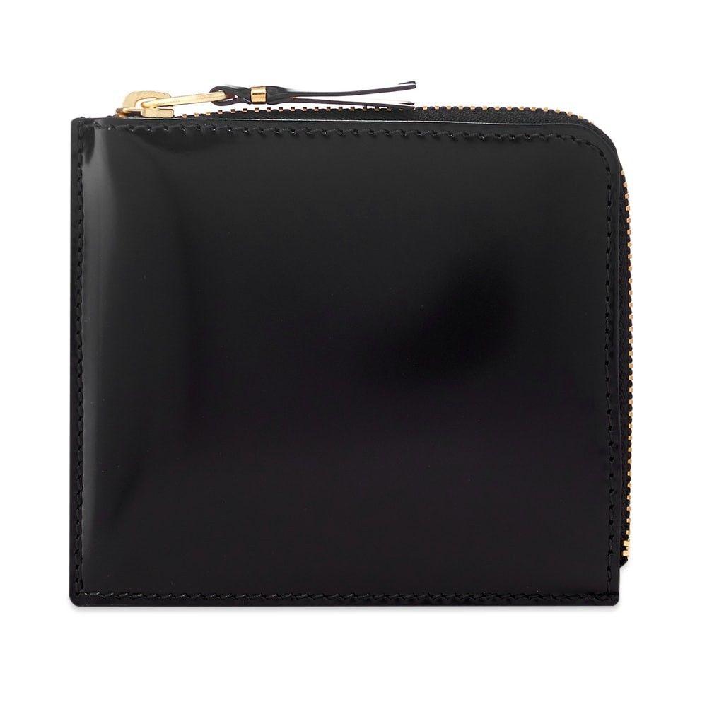 コムデギャルソン Comme des Garcons Wallet メンズ 財布 【Comme des Garcons SA3100MI Mirror Inside Wallet】Black/Gold