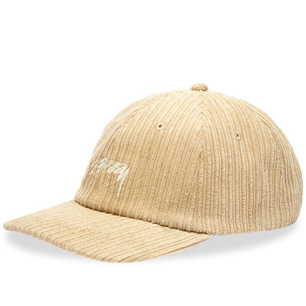 ステューシー メンズ 帽子 キャップ Beige 【サイズ交換無料】 ステューシー Stussy メンズ キャップ 帽子【Cord Low Pro Cap】Beige