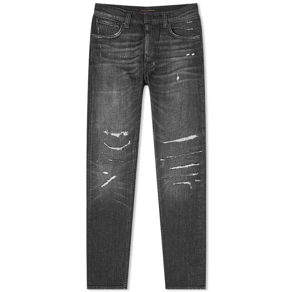 ヌーディージーンズ Nudie Jeans Co メンズ ジーンズ・デニム ボトムス・パンツ【Nudie Lean Dean Jean】Smashing Black