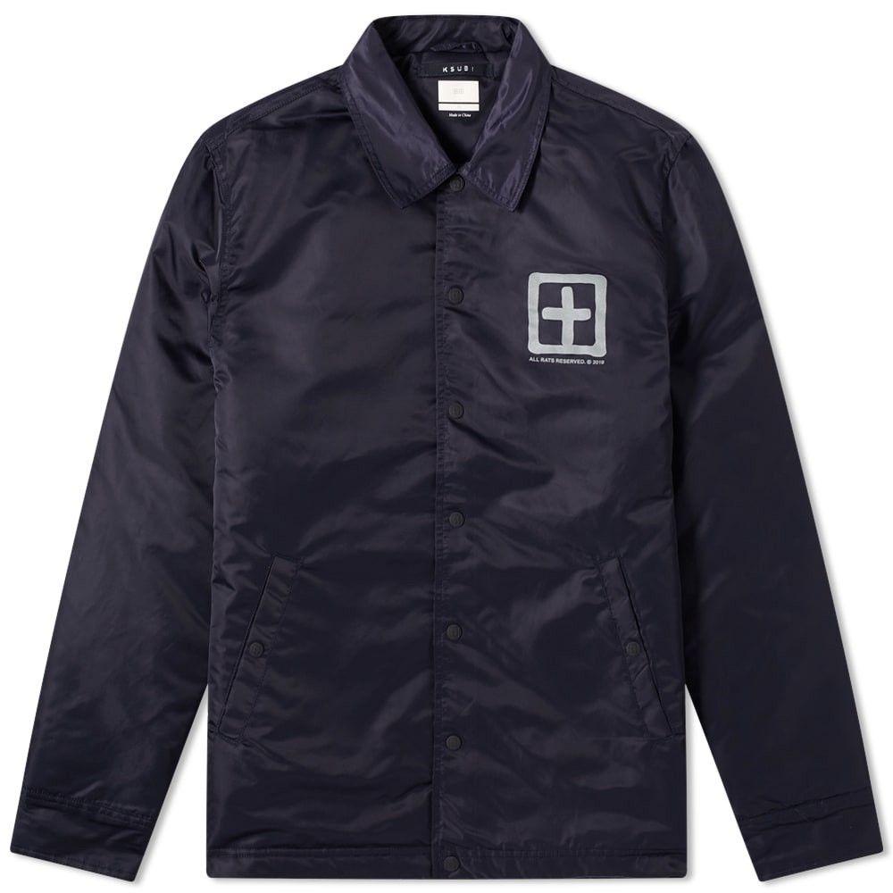 スビ Ksubi メンズ ジャケット コーチジャケット アウター【Sign of the Times Coach Jacket】Navy