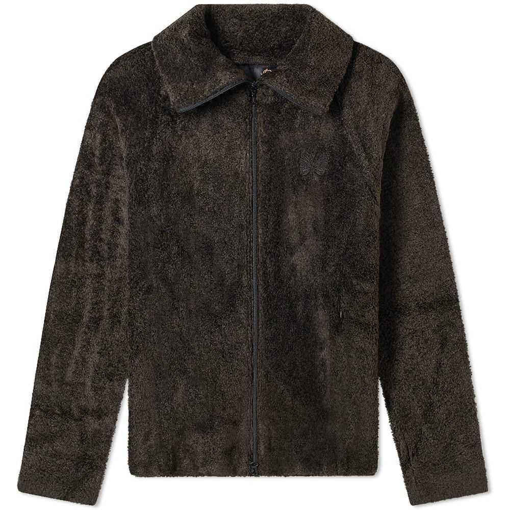 ニードルズ Needles メンズ ジャケット アウター【Lewis Sherpa Jacket】Charcoal