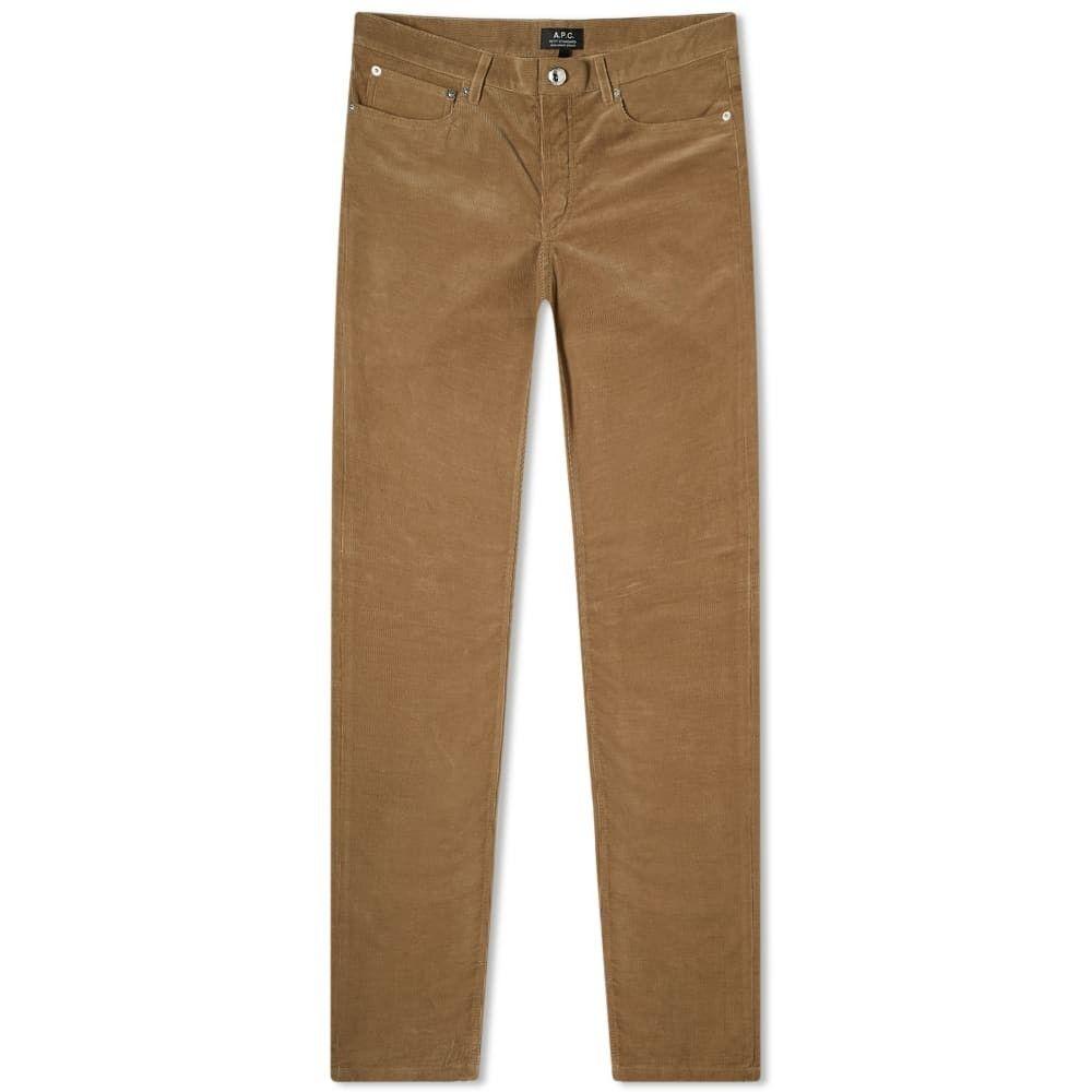 アーペーセー A.P.C. メンズ ジーンズ・デニム ボトムス・パンツ【Corduroy Petit Standard Jean】Dark Beige