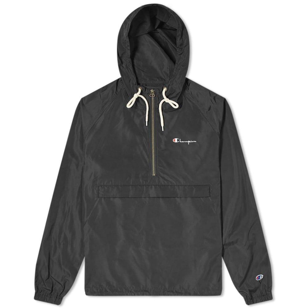 <title>チャンピオン メンズ アウター ジャケット Black サイズ交換無料 特価 Champion Reverse Weave Smock Jacket</title>