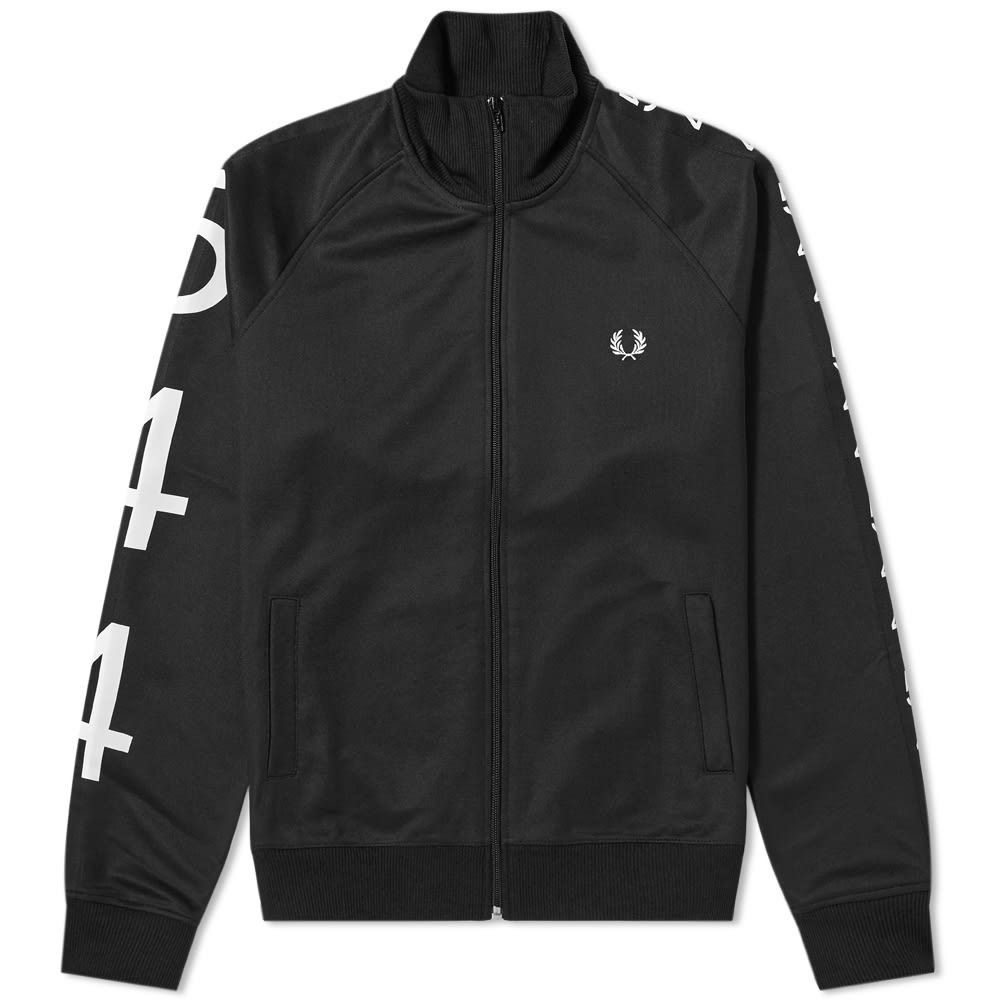 フレッドペリー Fred Perry Authentic メンズ ジャージ アウター【Fred Perry x Made Thought 544 Taped Track Jacket】Black