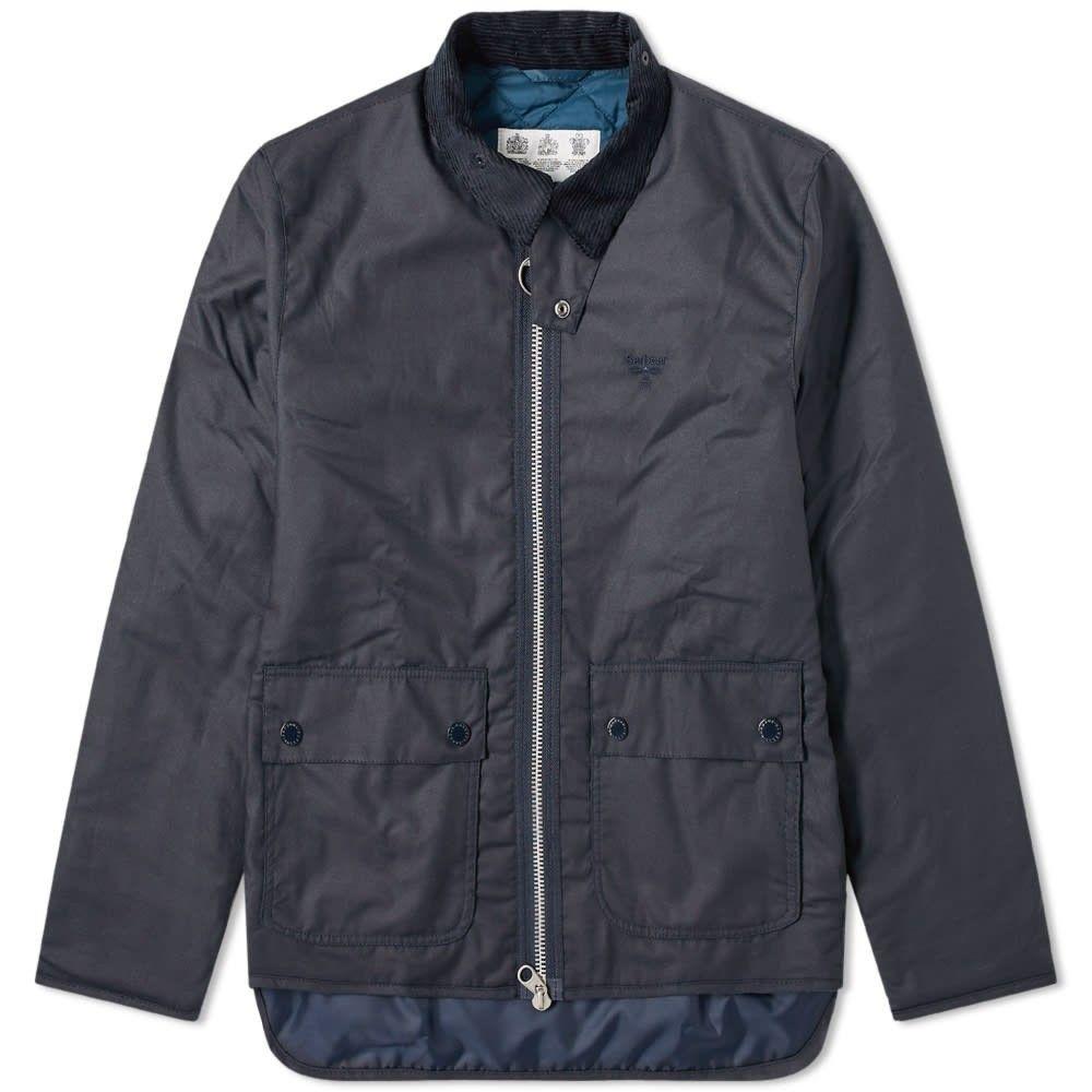 バブアー Barbour メンズ ジャケット アウター【Beacon Trinder Wax Jacket】Navy