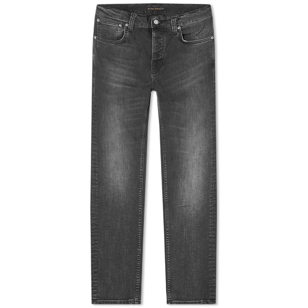 ヌーディージーンズ Nudie Jeans Co メンズ ジーンズ・デニム ボトムス・パンツ【Nudie Grim Tim Jean】Concrete Black