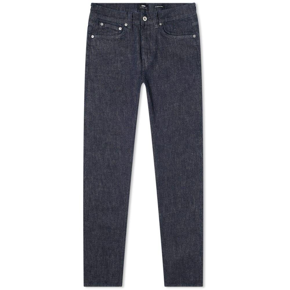 エドウィン Edwin メンズ ジーンズ・デニム ボトムス・パンツ【ED-85 Slim Tapered Jean】Rinsed 12.8oz Yukki Blue