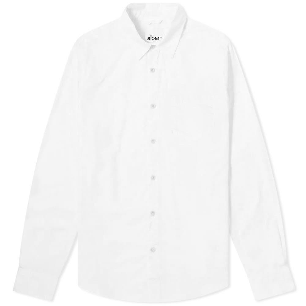アルバム Albam メンズ シャツ トップス【Gysin Shirt】White
