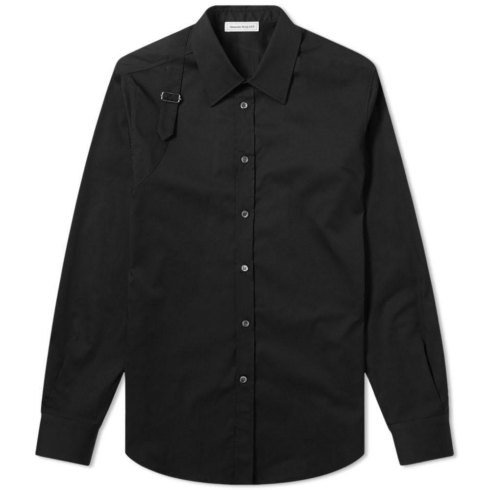 アレキサンダー マックイーン Alexander McQueen メンズ シャツ トップス【Harness Shirt】Black