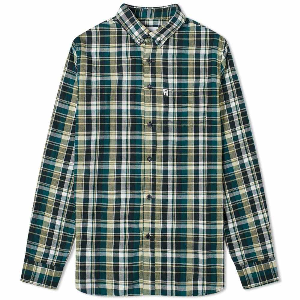 ペンフィールド Penfield メンズ シャツ トップス【Barrhead Button Down Check Shirt】Green
