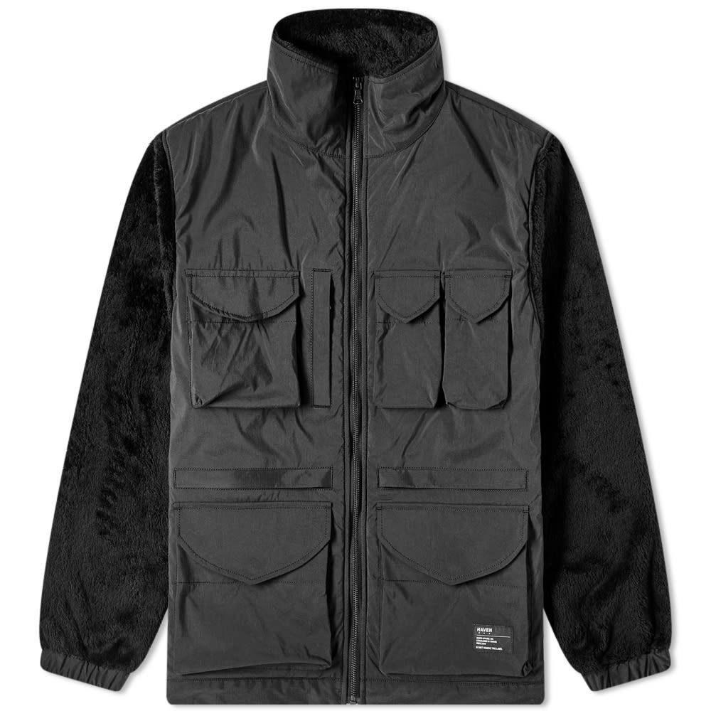 ヘブン HAVEN メンズ ジャケット アウター【Utility Jacket】Black