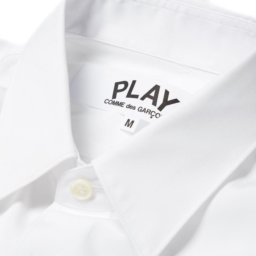 コム デ ギャルソン Comme des Garcons Play メンズ シャツ トップス【Basic Shirt】White/Black