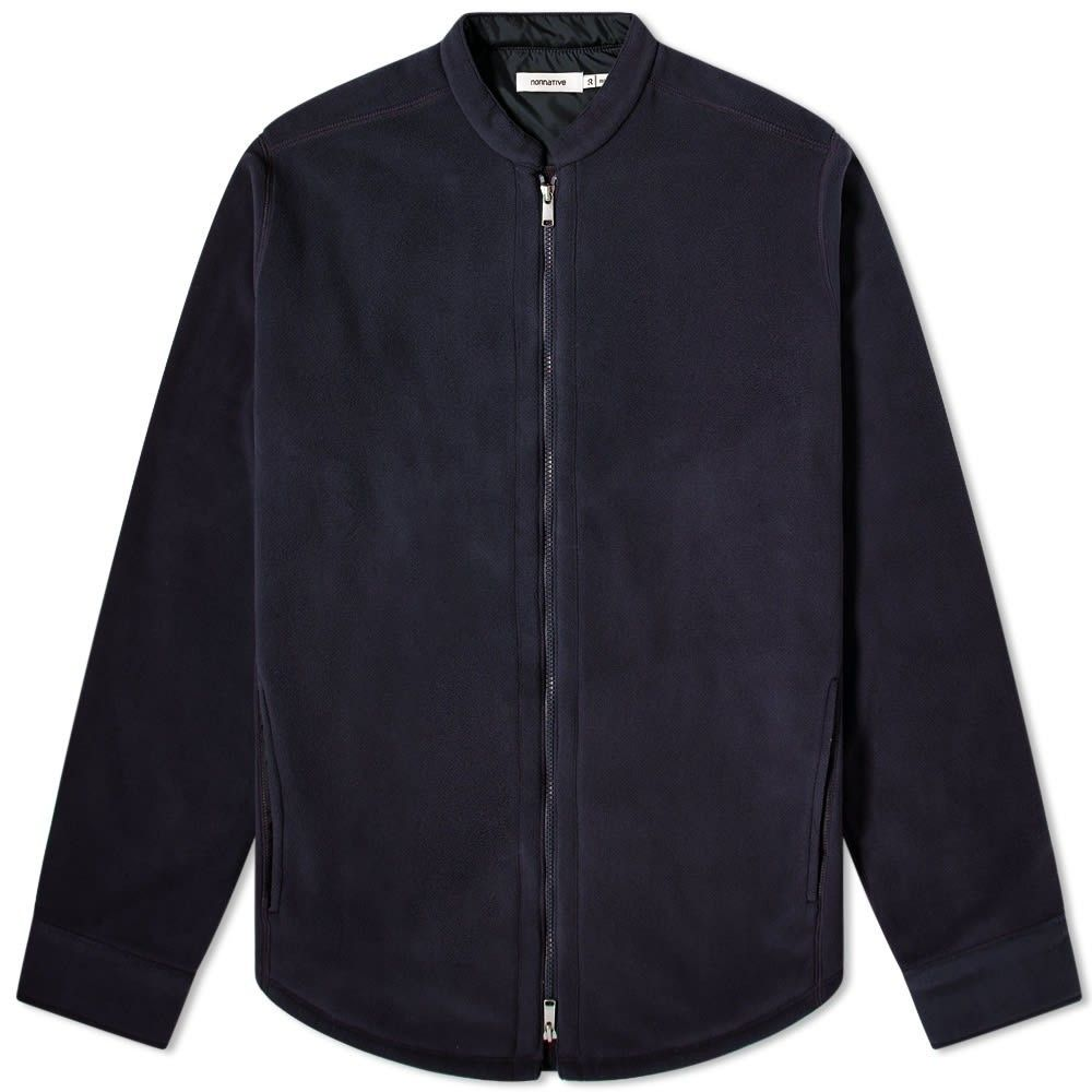 ノンネイティブ Nonnative メンズ ジャケット シャツジャケット アウター【Hiker Polartec Shirt Jacket】Navy