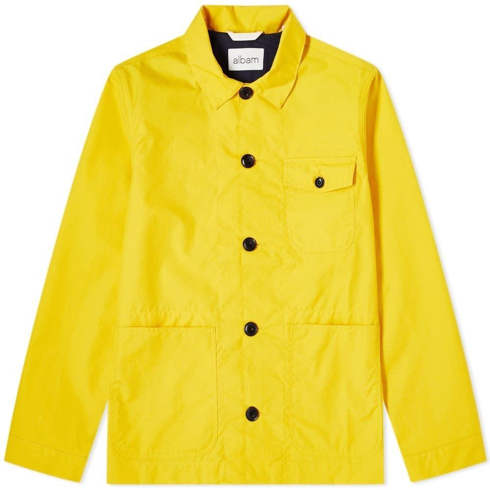 アルバム Albam メンズ ジャケット アウター【Canvas Rail Jacket】Yellow