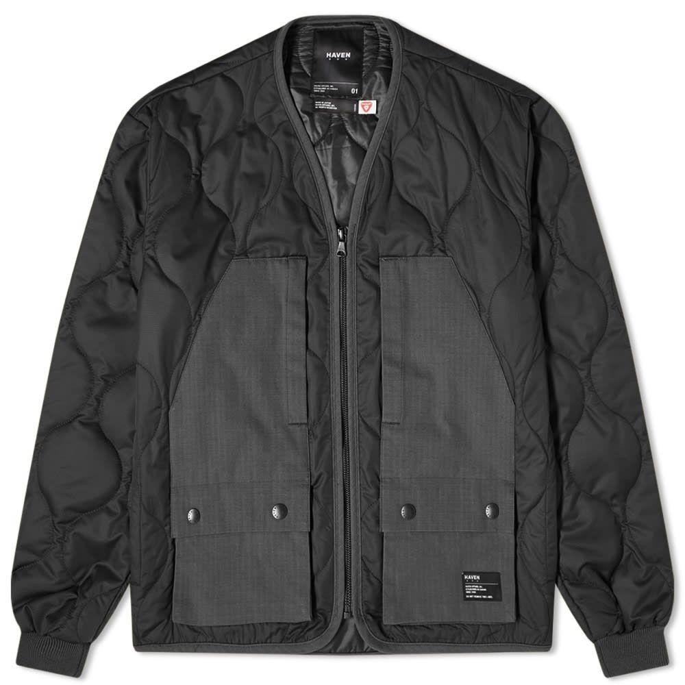 ヘブン HAVEN メンズ ジャケット アウター【Primaloft Modular Liner Jacket】Black