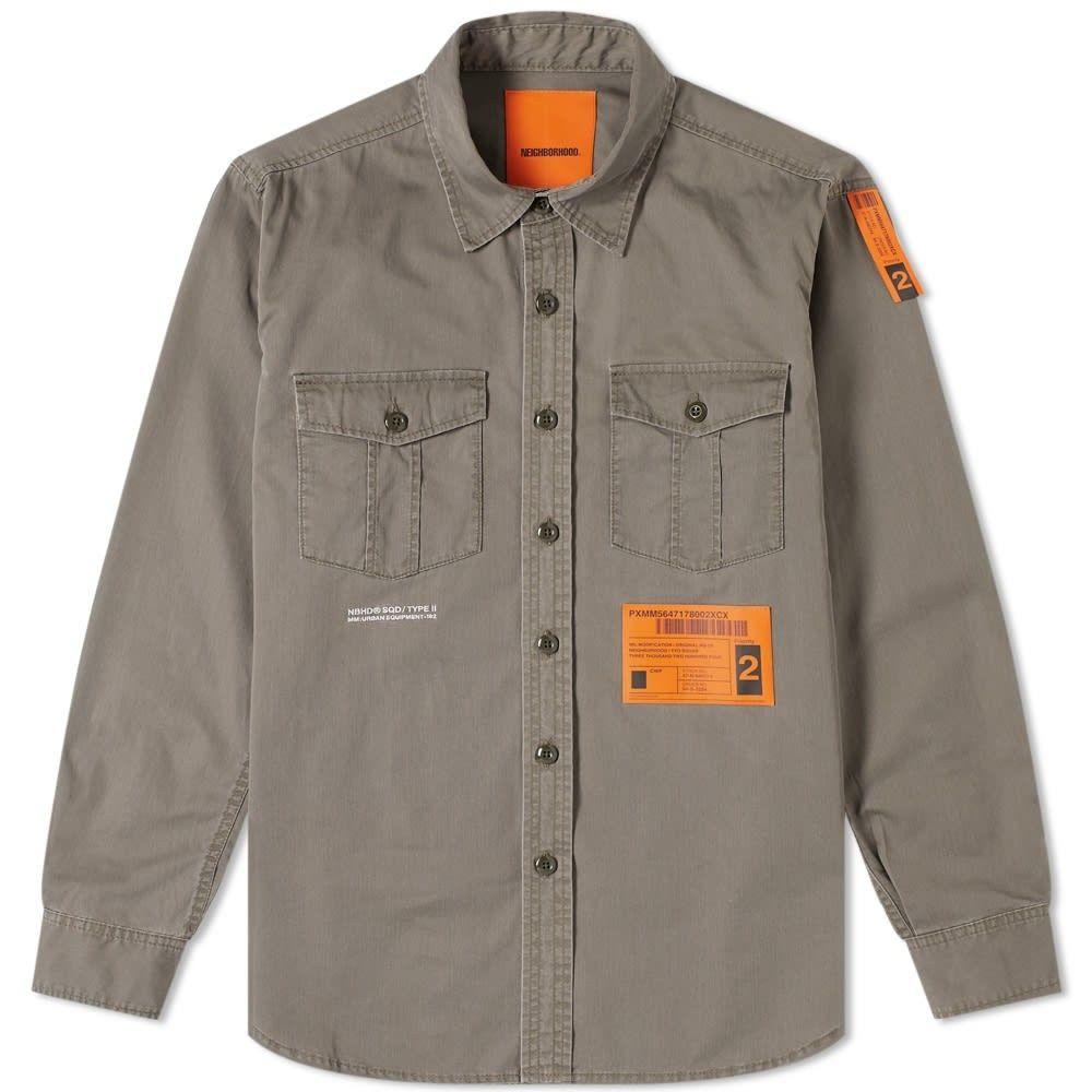 ネイバーフッド Neighborhood メンズ シャツ トップス【Safari Shirt】Olive Drab