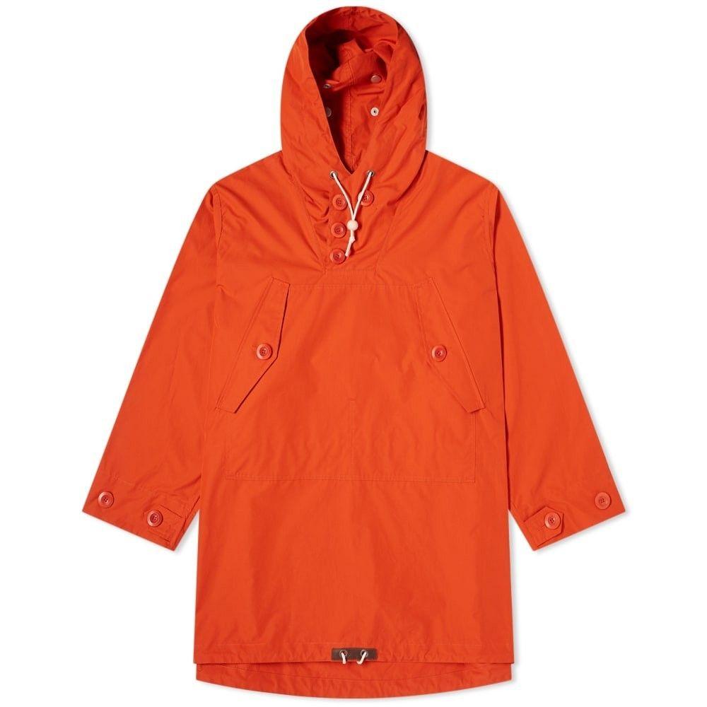 ナイジェルケーボン Nigel Cabourn メンズ ジャケット アウター【x Liam Gallagher Long Smock】Vintage Orange