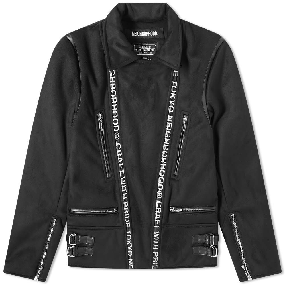 ネイバーフッド Neighborhood メンズ ジャケット アウター【Riders Jacket】Black