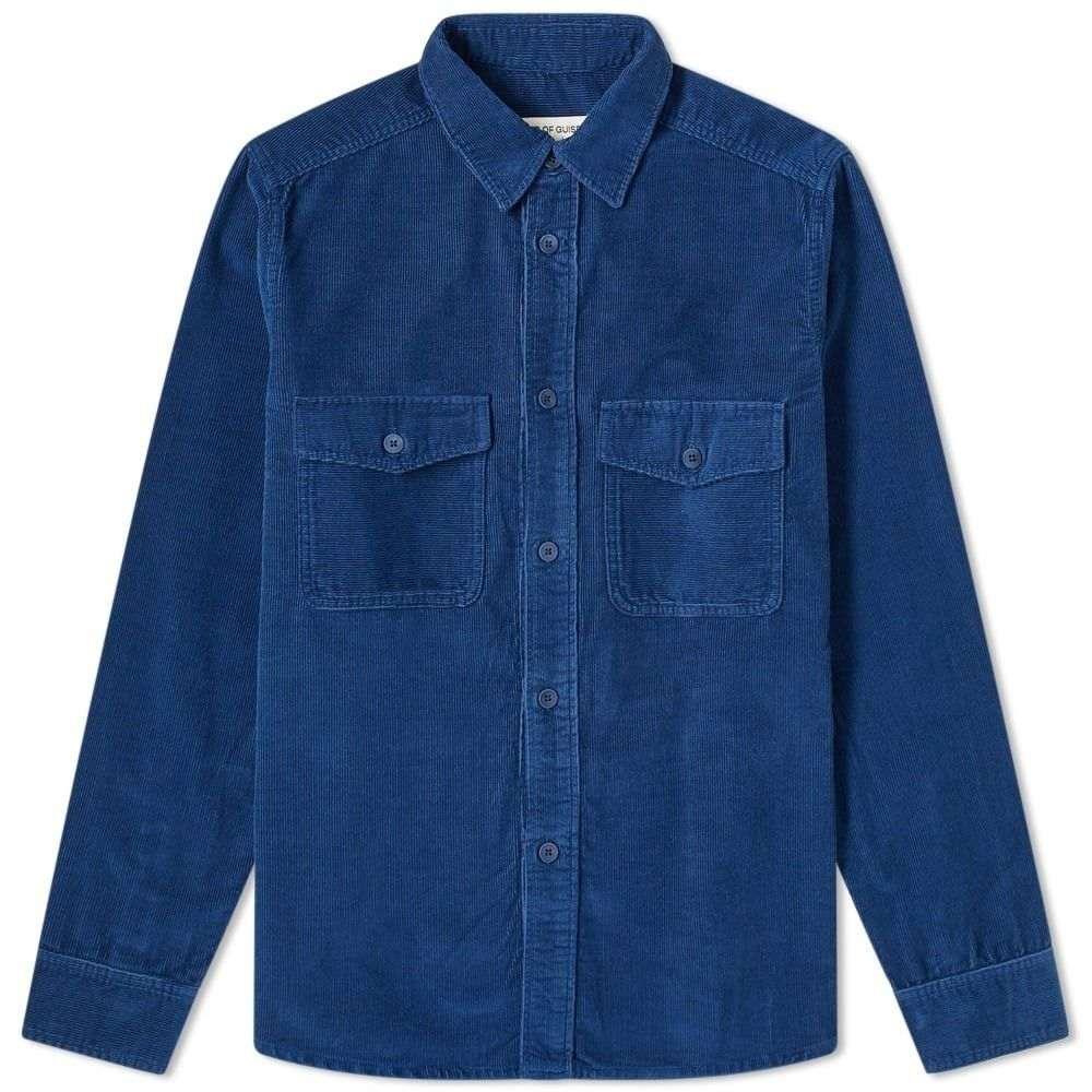ア カインド オブ ガイズ A Kind of Guise メンズ シャツ トップス【Chambers Shirt】Sea Blue