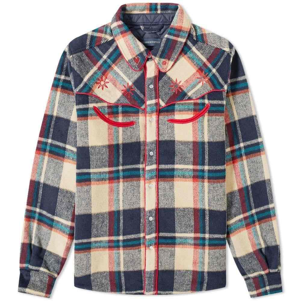 ビリオネアボーイズクラブ Billionaire Boys Club メンズ ジャケット オーバーシャツ アウター【Western Check Overshirt】Tan