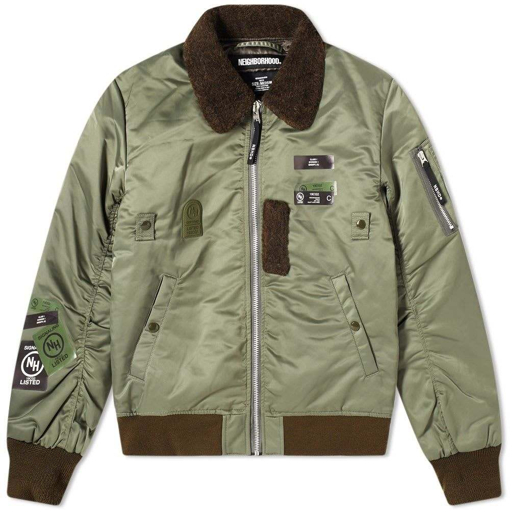 ネイバーフッド Neighborhood メンズ ジャケット アウター【B-15D Jacket】Olive Drab