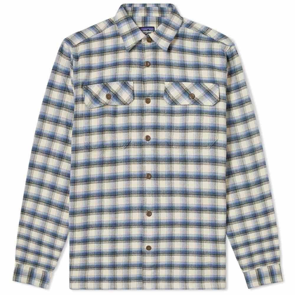 パタゴニア Patagonia メンズ シャツ フランネルシャツ トップス【Fjord Flannel Shirt】Oyster White