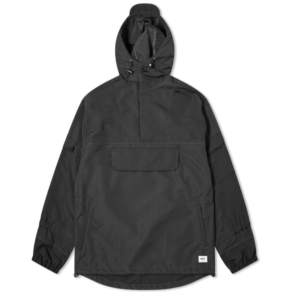 ヴァンキッシュ Vanquish メンズ ジャケット ミリタリージャケット アウター【Pullover Military Jacket】Black