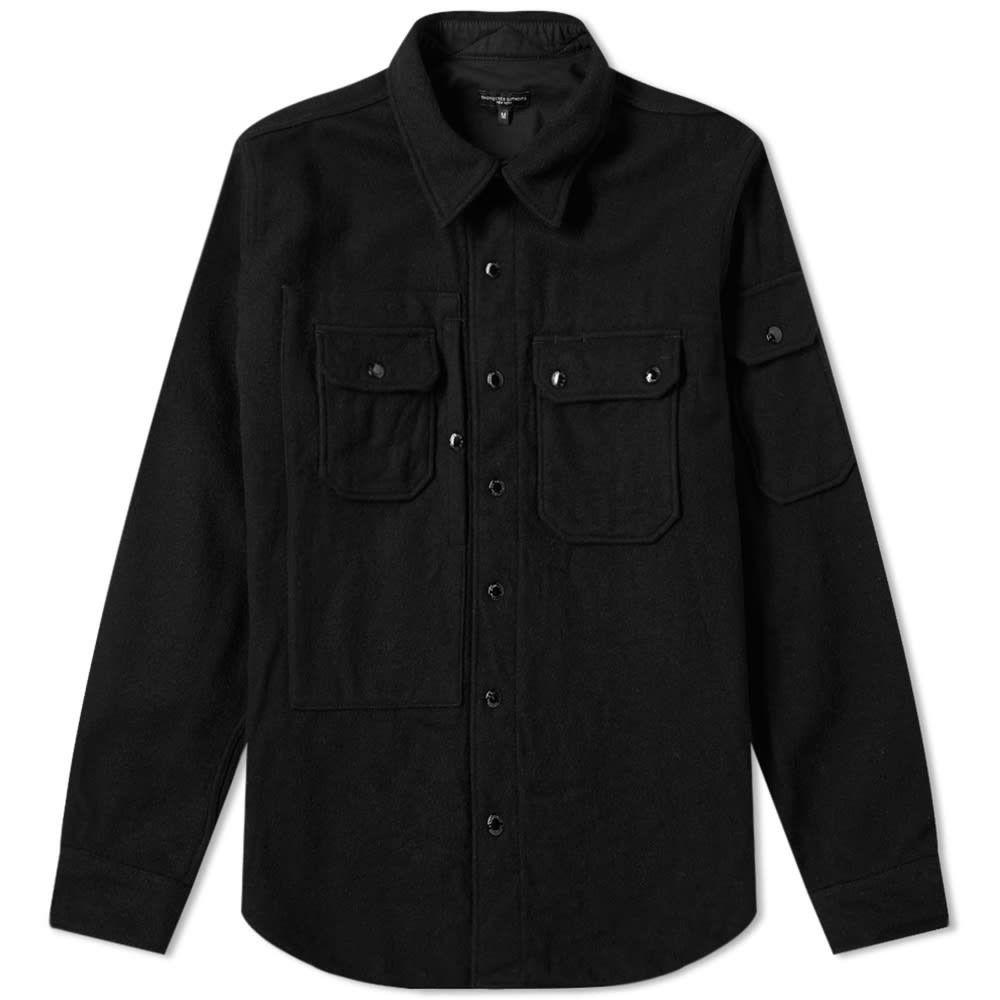 エンジニアードガーメンツ Engineered Garments メンズ ジャケット シャツジャケット アウター【Field Shirt Jacket】Black
