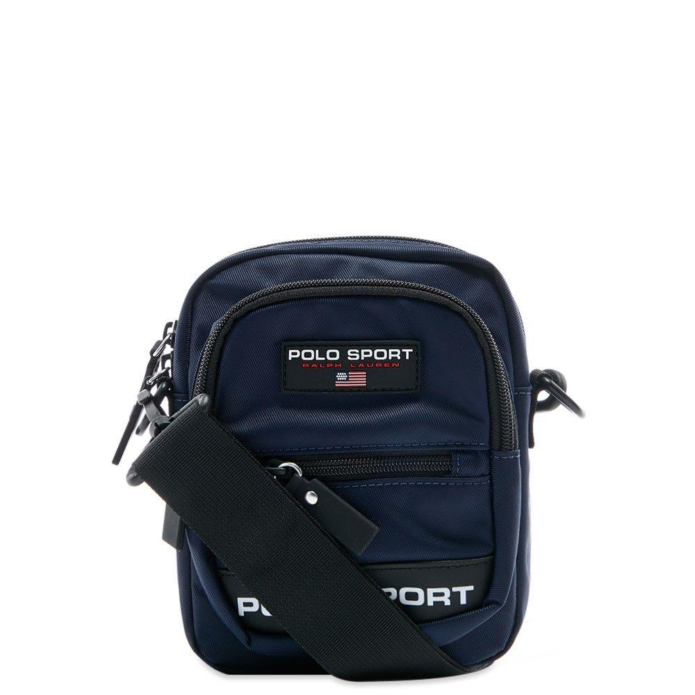 ポロスポーツ Polo Sport メンズ ショルダーバッグ バッグ【Polo Ralph Lauren Cross Body Bag】Navy