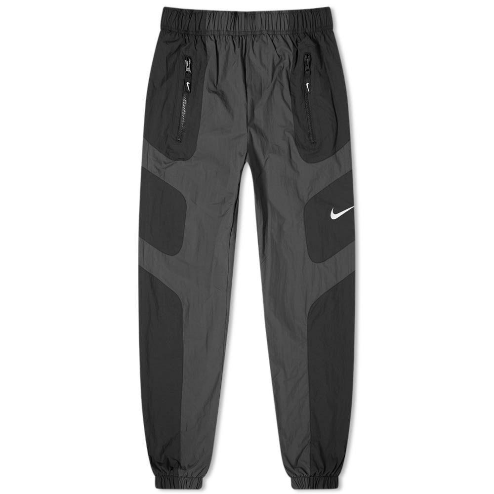 ナイキ Nike メンズ スウェット・ジャージ ボトムス・パンツ【Re-Issue Woven Pant】Black/Anthracite/White