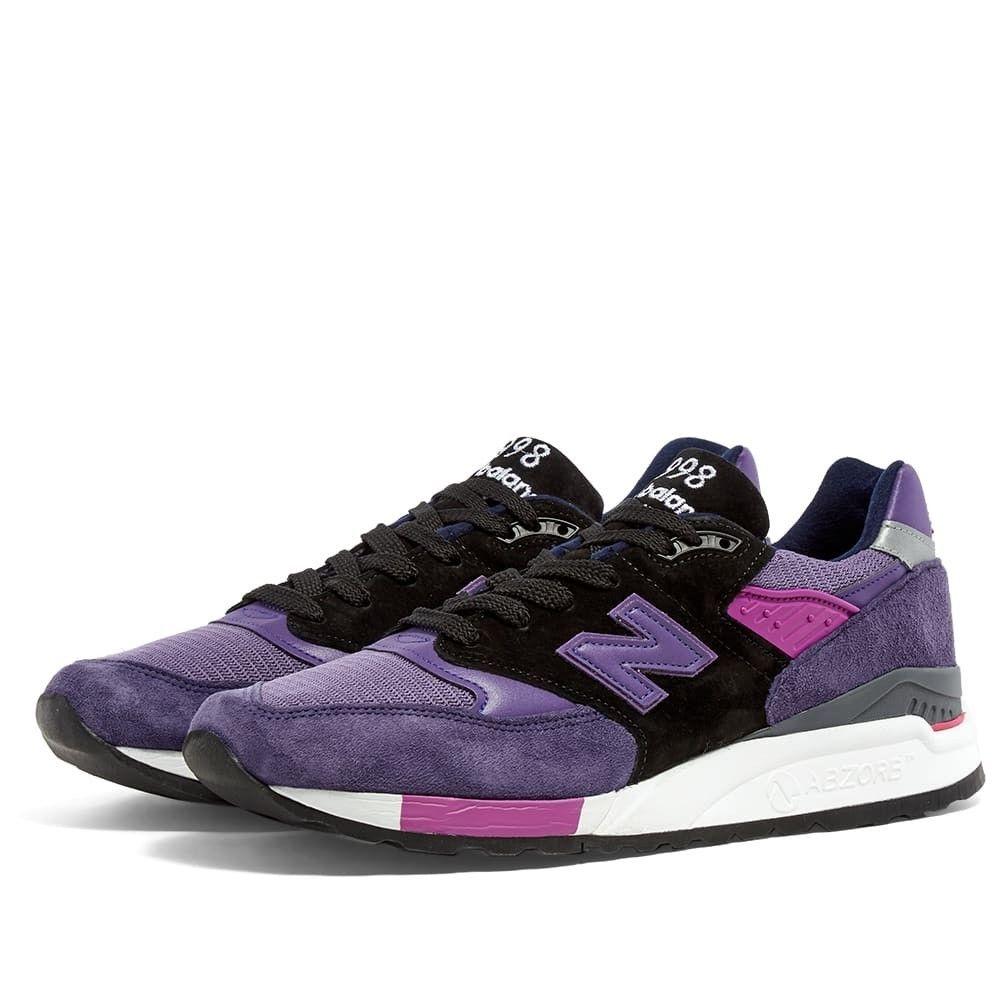 ニューバランス New Balance メンズ スニーカー シューズ・靴【M998BLD - Made in the USA】Purple/Black