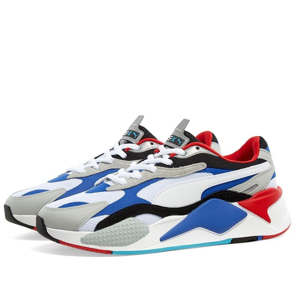 プーマ Puma メンズ スニーカー シューズ・靴【RS-X Puzzle】White/Dazzling Blue