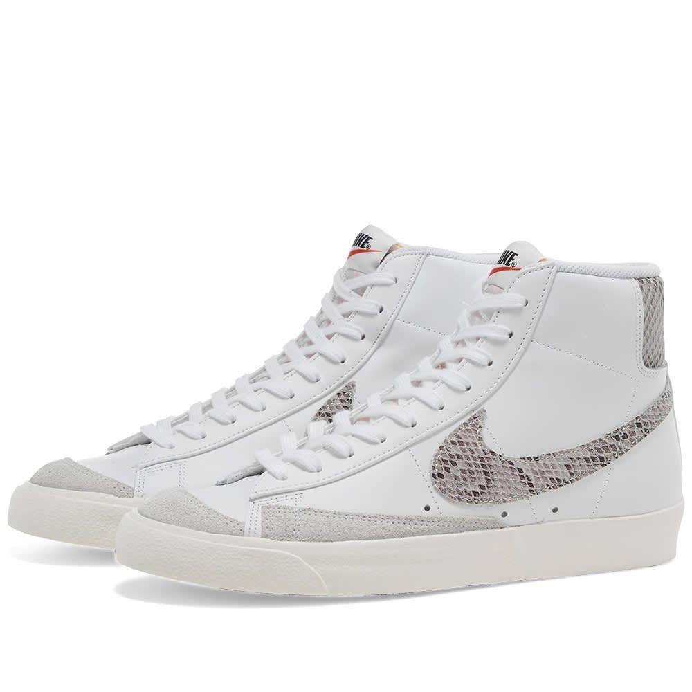 ナイキ Nike メンズ スニーカー シューズ・靴【Blazer Mid '77 Vintage】White/Sail