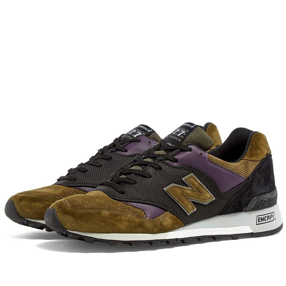 ニューバランス New Balance メンズ スニーカー シューズ・靴【M577GPK - Made in England】Grey/Olive/Purple