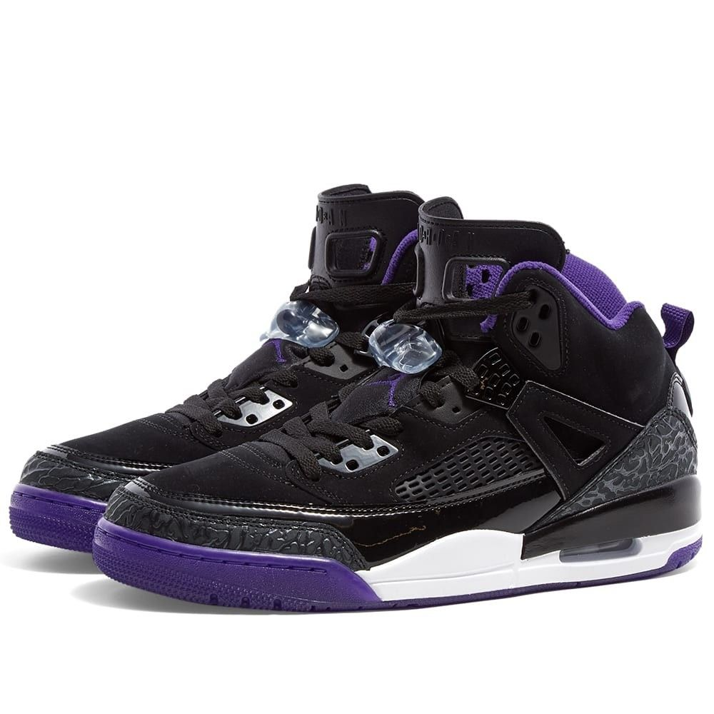 ナイキ ジョーダン Nike Jordan メンズ スニーカー シューズ・靴【Jordan Spizike】Black/Purple/Grey/White