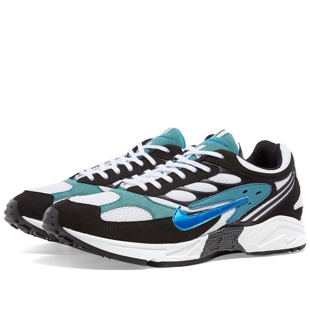 ナイキ Nike メンズ スニーカー シューズ・靴【Air Ghost Racer】Black/Mineral/Teal/Black
