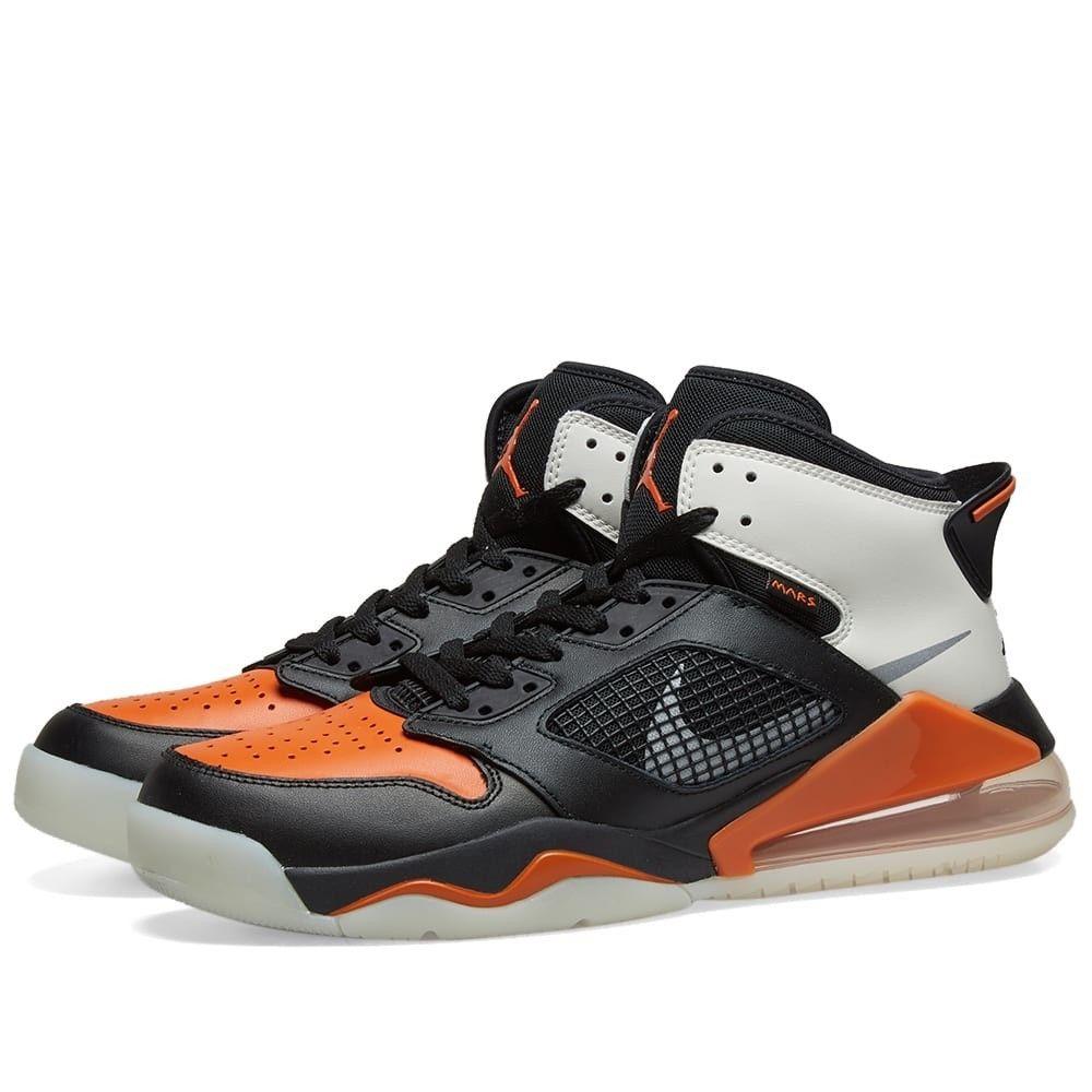 ナイキ ジョーダン Nike Jordan メンズ スニーカー シューズ・靴【Air Jordan Mars 270】Black/Silver/Starfish Sail