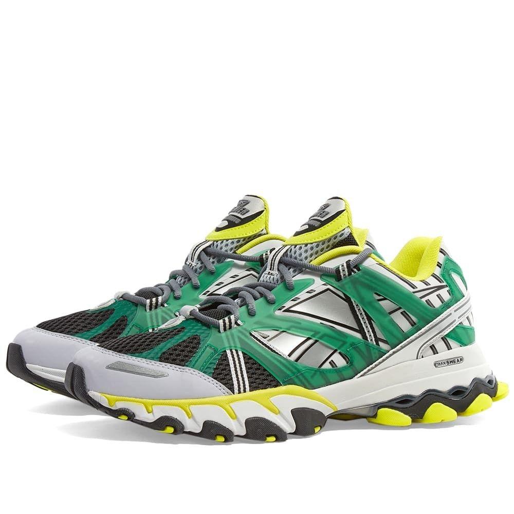 リーボック Reebok メンズ スニーカー シューズ・靴【DMX Trail Shadow】Black/Green/Yellow