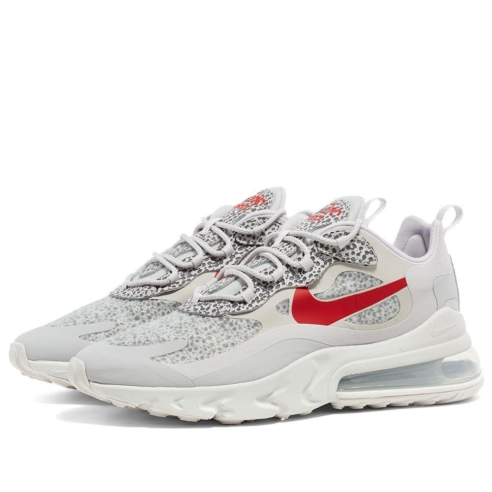 ナイキ Nike メンズ スニーカー エアマックス 270 シューズ・靴【Air Max 270 React Camo】Neutral Grey/Platinum/Red