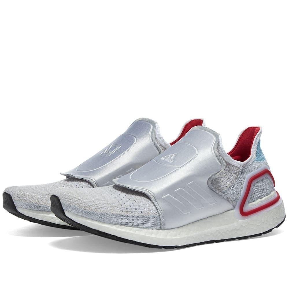 アディダス Adidas Consortium メンズ スニーカー シューズ・靴【Adidas x Doe Ultra Boost 19】White/Red