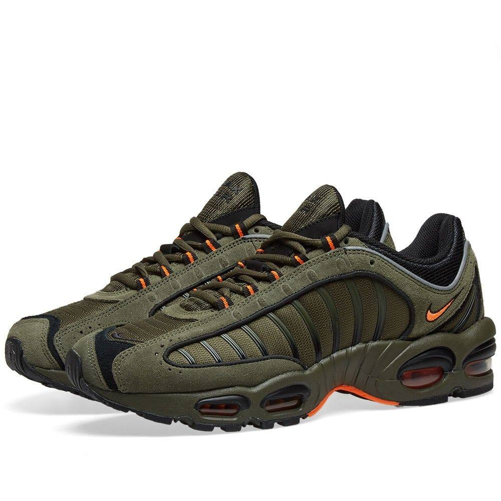 ナイキ Nike メンズ スニーカー シューズ・靴【Air Max Tailwind IV SE】Khaki/Orange/Black/Silver