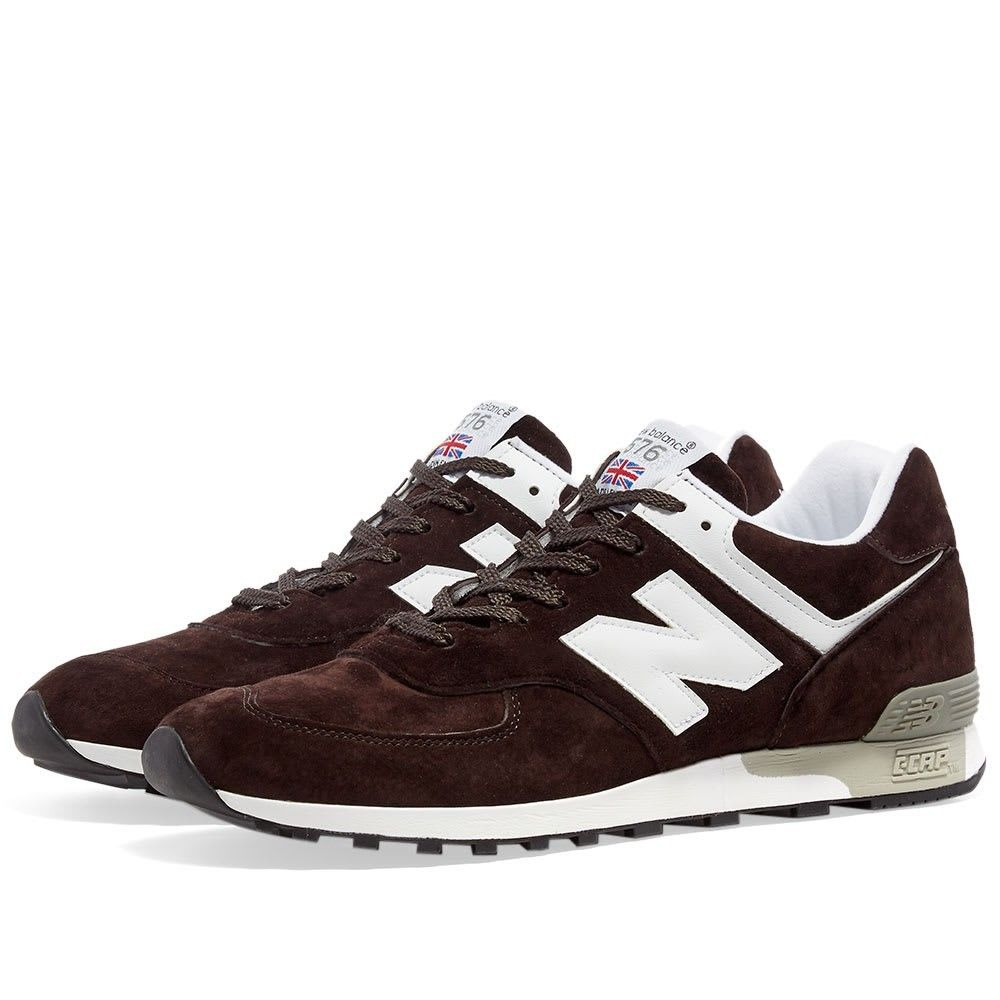 ニューバランス New Balance メンズ スニーカー シューズ・靴【M576DBW - Made in England】Dark Brown/White